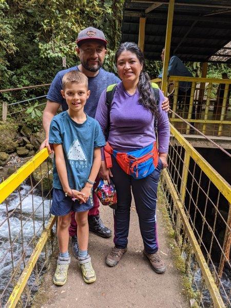 voyage en famille mindo equateur rencontre amitié