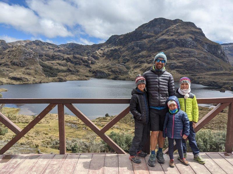 voyage en famille equateur parc cajas