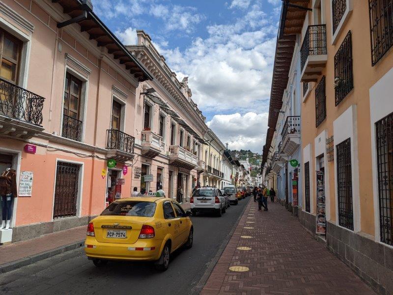 voyage en famille equateur quito centre ville