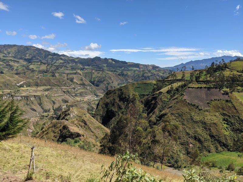 voyage en famille equateur randonnée boucle Quilotoa