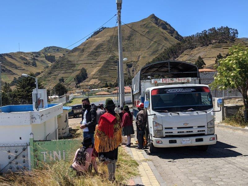 voyage en famille equateur transport