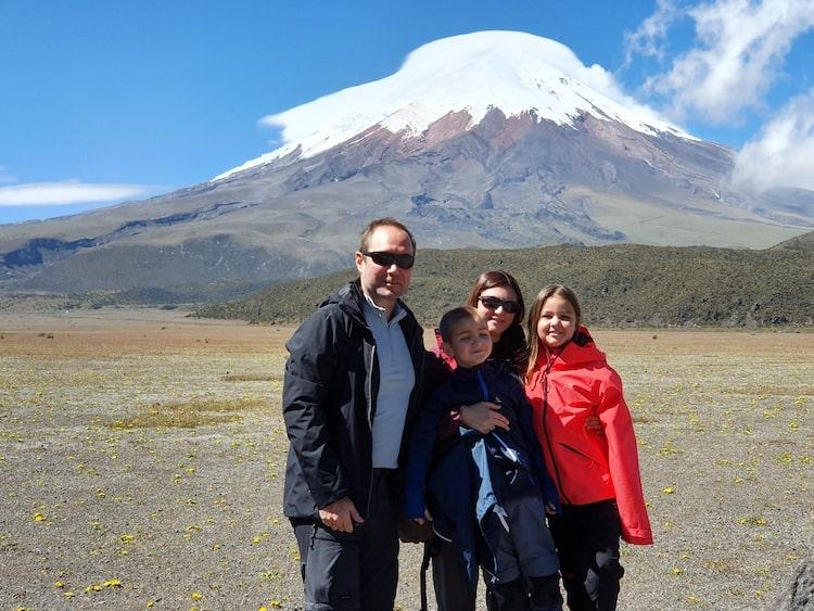 voyage equateur en famille cotopaxi volcan