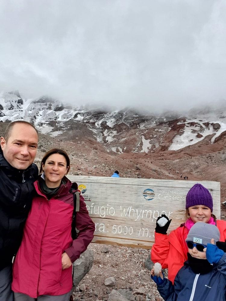 voyage equateur en famille volcan