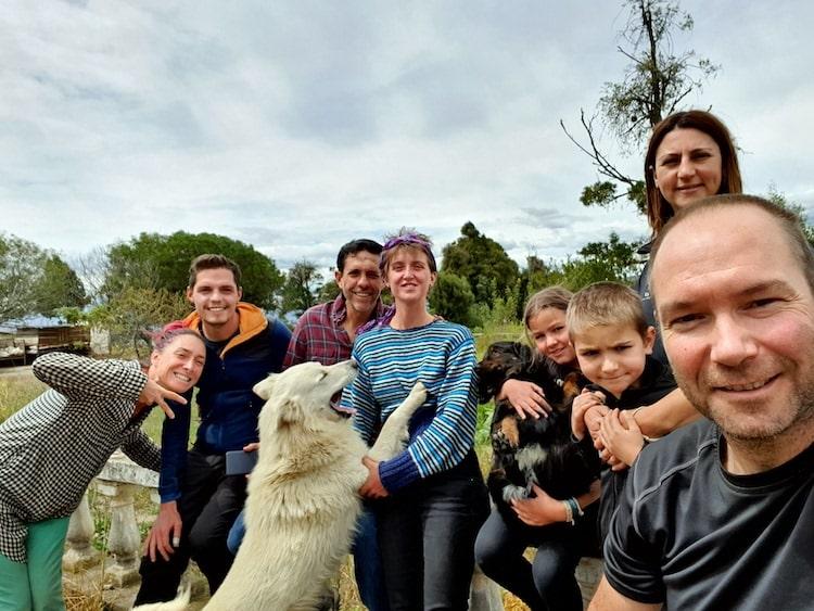 voyage equateur en famille wwoofing