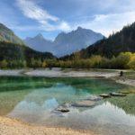 voyage famille en slovénie lac