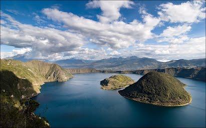 voyage equateur randonnée cuicocha laguna