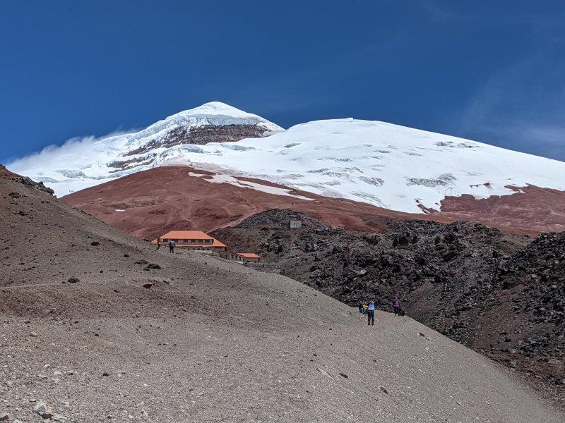 voyage equateur randonnée ascension cotopaxi