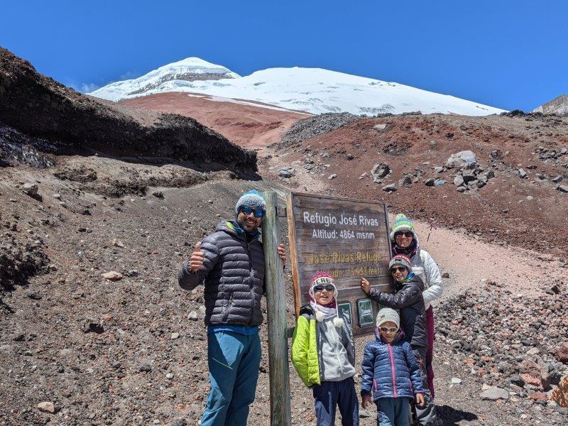 voyage equateur randonnée cotopaxi refuge jase chivas
