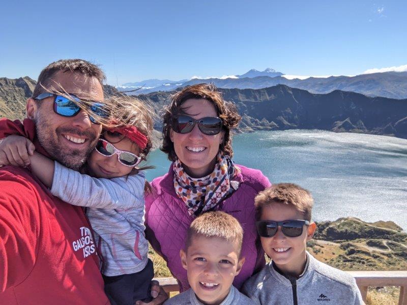 randonnées boucle quilotoa famille