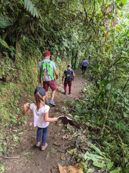 voyage equateur randonnée mindo chemin des cascades