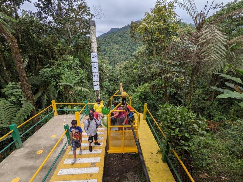 voyage equateur randonnée tarabita mindo cascades