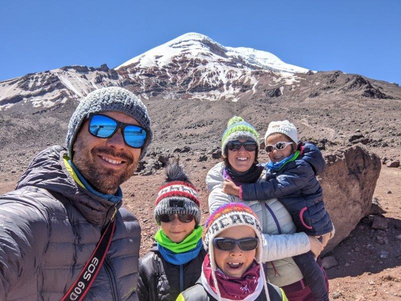 voyage equateur randonnée ascension chimborazo