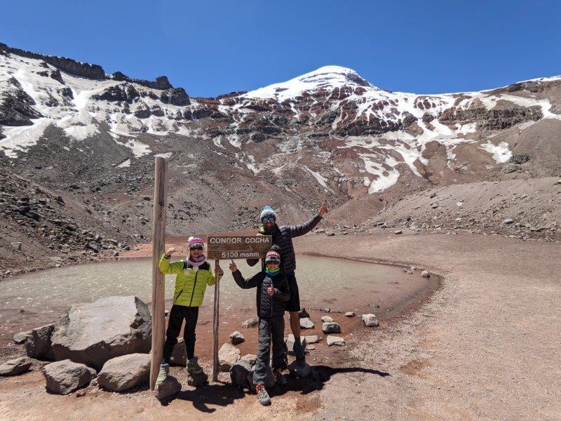 voyage equateur randonnée laguna Chimborazo
