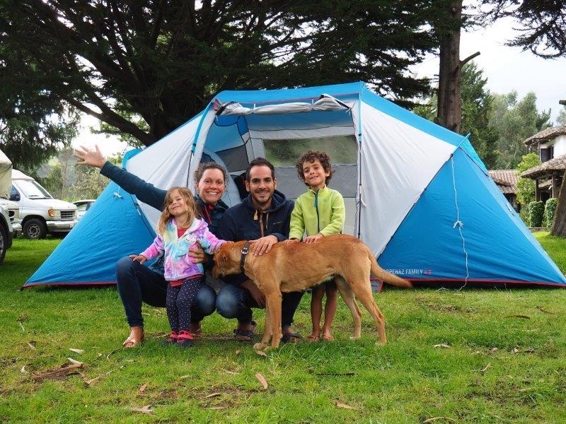 voyage equateur famille camping enfants