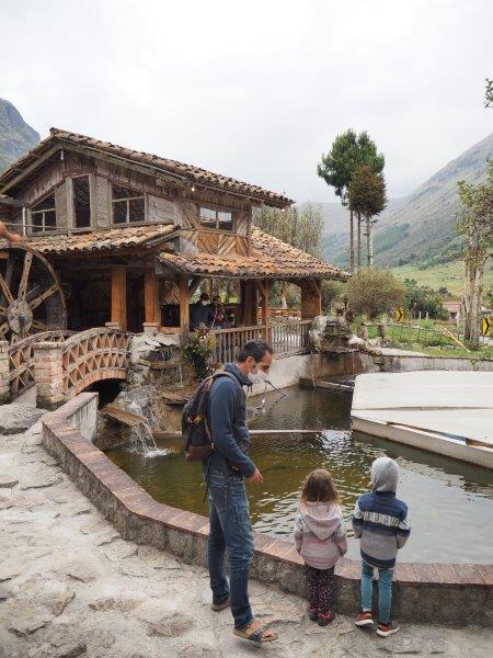 voyage equateur famille camping restaurant truite parque cajas